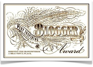 Very Inspiring Blogger Award J E Nice Writer
