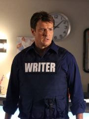 Richard Castle: Writer! (got to love a bit of Nathan Fillion)