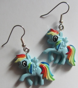Birmingham Comic Con MLP earrings (1)