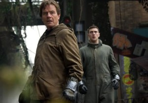 Godzilla Bryan Cranston and Aaron Taylor-Johnson