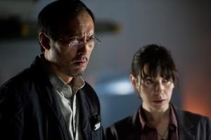 GODZILLA Dr Serizawa with his colleague, Vivienne Graham (Sally Hawkins