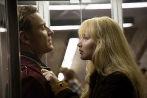 Erik (Fassbender) and Raven (Lawrence)
