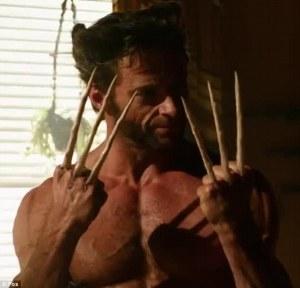 Hugh Jackman as Wolverine (who else?)