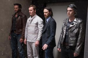 l-r Logan, Erik, Charles and Peter/Quicksilver (Peters)