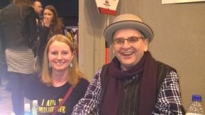Me and Sylvester McCoy J E Nice Birmingham ComicCon