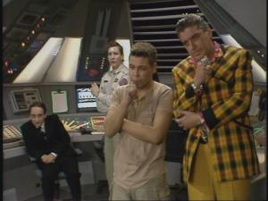 Confidence and Paranoia Red Dwarf