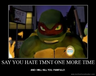 Say you hate TMNT meme