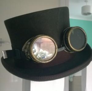 Steampunk hat J E Nice